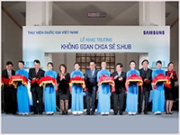 Launching S.hub Sharing Space at the National Library of Viet Nam