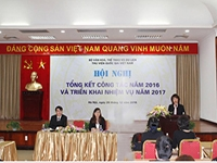 The National Library of Viet Nam summarizes its  activities in 2016 and initiates new tasks for the year 2017
