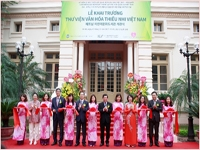 Opening Ceremony of the Children's Cultural Library in Viet Nam