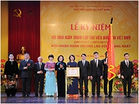 The National Library of Viet Nam solemnly celebrates the 100th Foundation Day Anniversary (29/11/1917-29/11/2017)