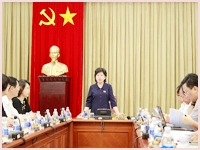National Assembly Committee for Culture, Education, Youth, Adolescents and Children surveyed the implementation of the Library Ordinance at the National Library of Viet Nam