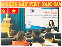 Training on use of cataloguing rules Resource Description and Access – Vietnamese edition