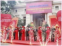 Book Exhibition celebrating 90th founding anniversary of the Communist Party of Viet Nam at the National Library of Viet Nam